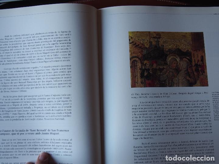 Libros de segunda mano: Un cert Jaume Huguet el capvespre dun somni. Joan Sureda i Pons. - Foto 7 - 199401711