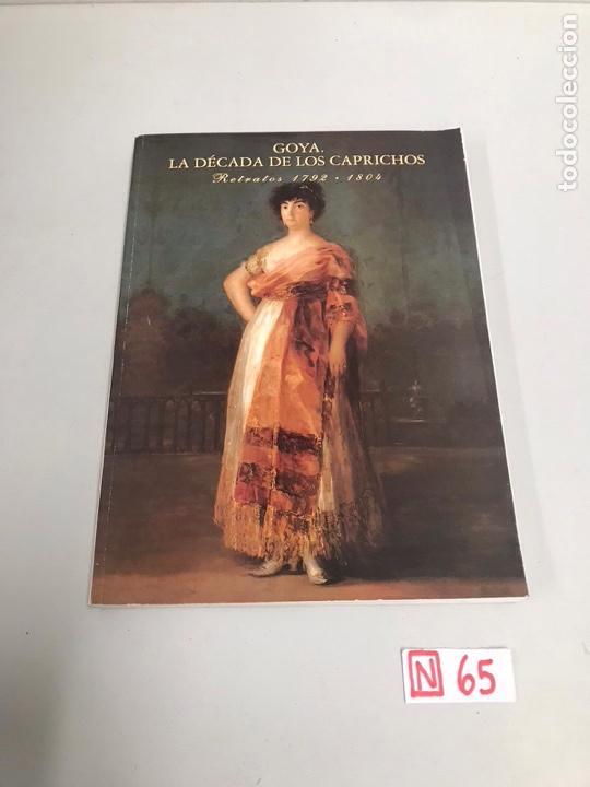GOYA LA ÉPOCA DE LOS CAPRICHOS (Libros de Segunda Mano - Bellas artes, ocio y coleccionismo - Pintura)