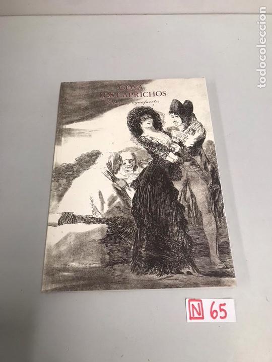 GOYA LOS CAPRICHOS (Libros de Segunda Mano - Bellas artes, ocio y coleccionismo - Pintura)