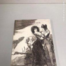 Libros de segunda mano: GOYA LOS CAPRICHOS. Lote 199484277
