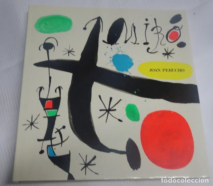 JOAN MIRÓ Y CATALUÑA, EDICIONES POLIGRAFA, S.A. BARCELONA JUAN PERUCHO, 1988, VER FOTOS (Libros de Segunda Mano - Bellas artes, ocio y coleccionismo - Pintura)