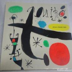 Libros de segunda mano: JOAN MIRÓ Y CATALUÑA, EDICIONES POLIGRAFA, S.A. BARCELONA JUAN PERUCHO, 1988, VER FOTOS. Lote 199581632