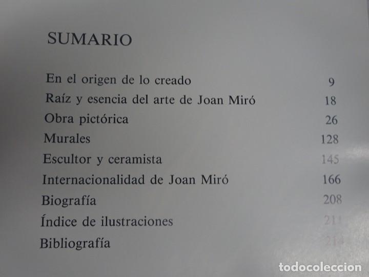 Libros de segunda mano: JOAN MIRÓ Y CATALUÑA, EDICIONES POLIGRAFA, S.A. BARCELONA JUAN PERUCHO, 1988, VER FOTOS - Foto 5 - 199581632