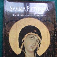 Libros de segunda mano: SVMMA PICTORICA HISTORIA UNIVERSAL DE LA PINTURA EL ESPLENDOR DE LA EDAD MEDIA PLANETA. Lote 200848670