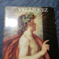 Libros de segunda mano: VELAZQUEZ. MUSEO DEL PRADO 1990. LIBRO DE GRAN FORMATO. Lote 201816613