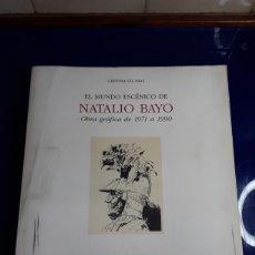 Libros de segunda mano: EL MUNDO ESCENICO DE NATALIO BAYO(OBRA GRÁFICA DE 1971 A 1990). Lote 201844353