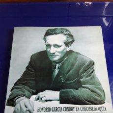 Libros de segunda mano: HONORARIO GARCÍA CONVOY EN CHECOSLOVAQUIA 1990. Lote 201901115