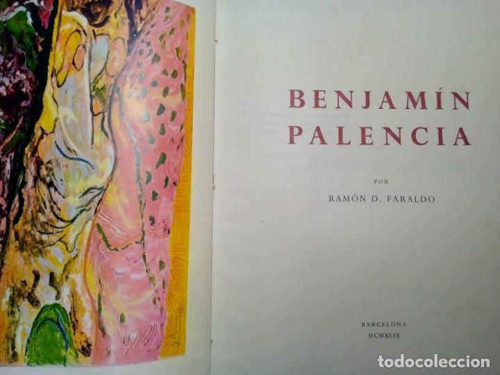 BENJAMÍN PALENCIA POR RAMÓN FARALDO. GALERÍAS LAYETANAS. BARCELONA 1949. EJEMPLAR 474/500. (Libros de Segunda Mano - Bellas artes, ocio y coleccionismo - Pintura)