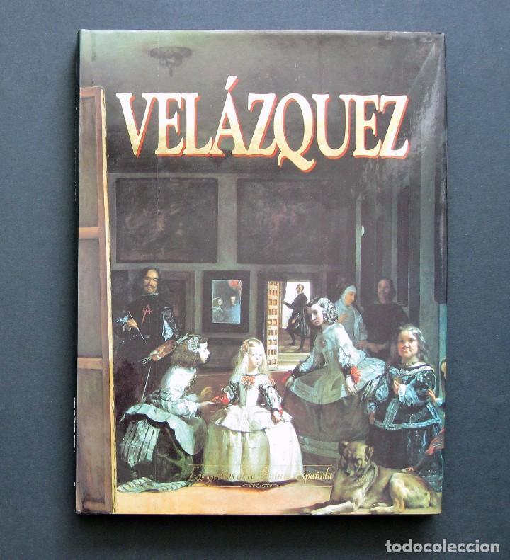 VELÁZQUEZ – LOS GENIOS DE LA PINTURA ESPAÑOLA Nº 1. SARPE 1990 (Libros de Segunda Mano - Bellas artes, ocio y coleccionismo - Pintura)