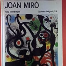Libros de segunda mano: ROSA MARIA MALET. JOAN MIRO. Lote 202970741