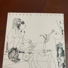 Libros de segunda mano: PICASSO. SUITE 156. - FUNDACIÓN BANCAJA, 1997. Lote 230491520