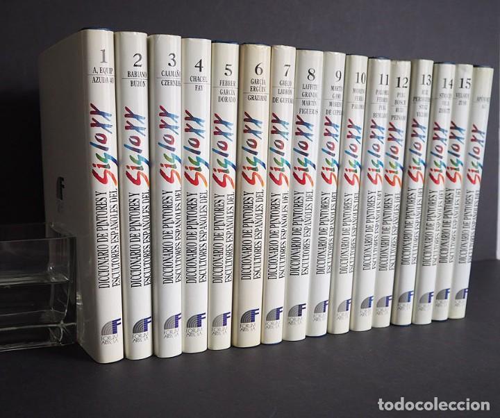 Libros de segunda mano: Diccionario de pintores y escultores Españoles del siglo XX. Completa. Los 16 Tomos - Foto 2 - 204243058