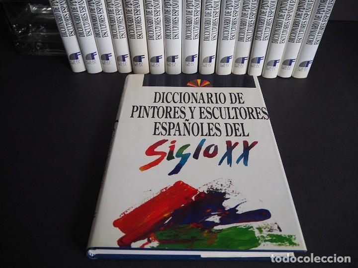 Libros de segunda mano: Diccionario de pintores y escultores Españoles del siglo XX. Completa. Los 16 Tomos - Foto 3 - 204243058