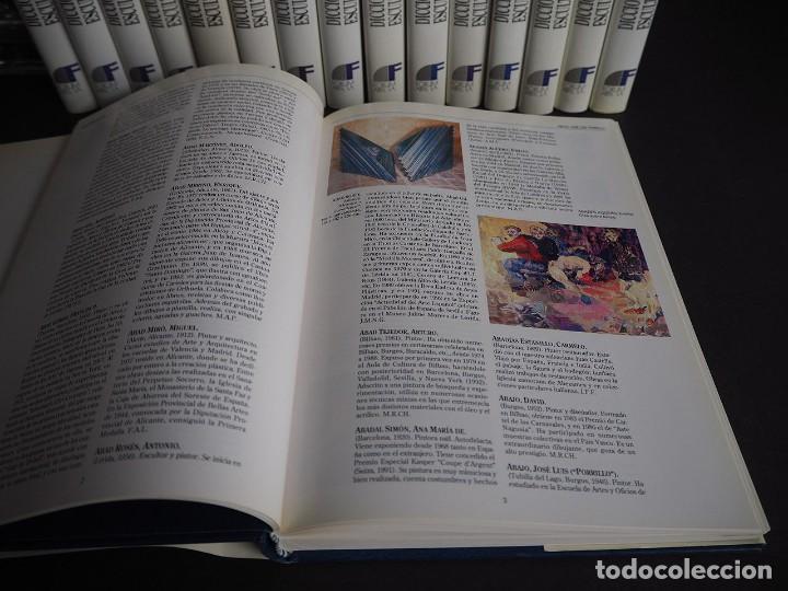 Libros de segunda mano: Diccionario de pintores y escultores Españoles del siglo XX. Completa. Los 16 Tomos - Foto 4 - 204243058