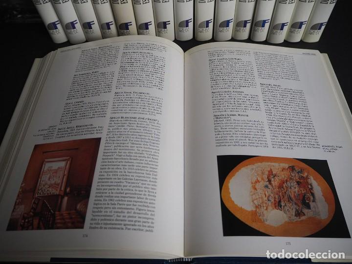 Libros de segunda mano: Diccionario de pintores y escultores Españoles del siglo XX. Completa. Los 16 Tomos - Foto 7 - 204243058