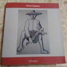 Libros de segunda mano: RAFAEL ZABALETA - DIBUJOS - CATÁLOGO / EXPOSICIÓN - I. E. G., 2015. Lote 204364121