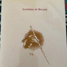 Libros de segunda mano: VELÁZQUEZ - BERUETE, AURELIANO DE (1845-1912). PRIMERA EDICIÓN ESPAÑOLA, ENE-1987. EJEMPLAR Nº 1429. Lote 204454372