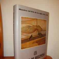 Livres d'occasion: DARÍO DE REGOYOS. TOMO I (1857-1900) - MAESTROS DEL ARTE DE LOS SIGLOS XIX Y XX, DICCIONARIO RAFOLS. Lote 204629360