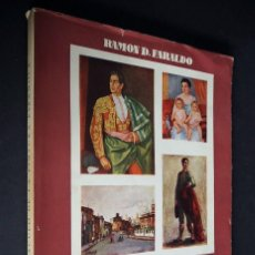 Libros de segunda mano: ESPECTÁCULO DE LA PINTURA ESPAÑOLA. RAMÓN D. FARALDO. EDITORIAL CIGÜEÑA. 1953. CON DEDICATORIA. Lote 204637978