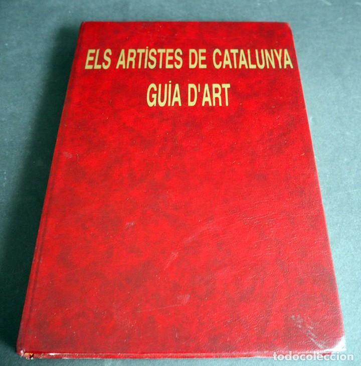 Libros de segunda mano: Els Artistes de Catalunya. Guia Dart. Josep Oliveras 1997 - Foto 2 - 204640111