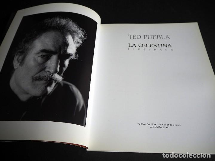 Libros de segunda mano: Teo Puebla. La Celestina ilustrada. Urban gallery 1999 - Foto 3 - 204640841