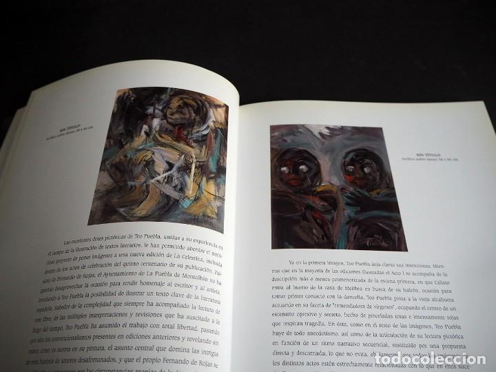 Libros de segunda mano: Teo Puebla. La Celestina ilustrada. Urban gallery 1999 - Foto 5 - 204640841