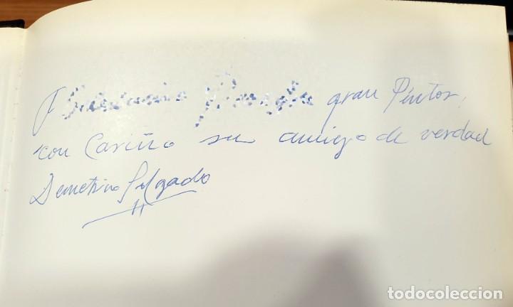 Libros de segunda mano: Demetrio Salgado. Vida y obra. A. M. Campoy. Ediciones Espalter 1988. Dedicado - Foto 11 - 204648803