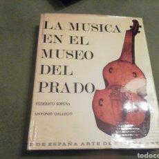 Libros de segunda mano: LA MÚSICA EN EL MUSEO DEL PRADO. FEDERICO SOPEÑA Y ANTONIO GALLEGO. 1972. NUEVO.. Lote 204684133