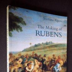Libros de segunda mano: SVETLANA ALPERS. THE MAKING OF RUBENS. YALE UNIVERSITY PRESS 1995. Lote 204695408