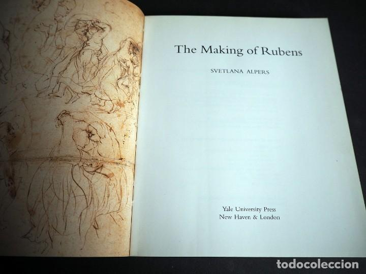 Libros de segunda mano: SVETLANA ALPERS. THE MAKING OF RUBENS. YALE UNIVERSITY PRESS 1995 - Foto 3 - 204695408
