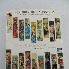 Libros de segunda mano: HISTORIA DE LA PINTURA DESDE LAS CAVERNAS HASTA NUESTRO TIEMPO EDITORIAL LANOR. Lote 204760181