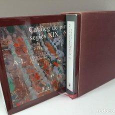Libros de segunda mano: CATALEG DE PINTURA, SEGLES XIX I XX, FONS DEL MUSEU D´ART MODERN, 2 TOMOS, PINTURA / PAINTING, 1987. Lote 205146497