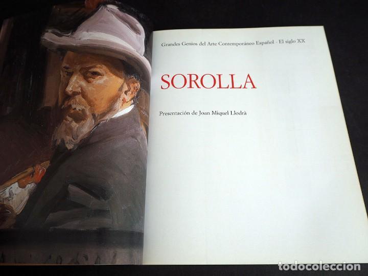 Libros de segunda mano: SOROLLA. GRANDES GENIOS DEL ARTE CONTEMPORANEO ESPAÑOL. EL MUNDO. 2006 - Foto 3 - 205242458