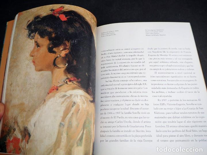 Libros de segunda mano: SOROLLA. GRANDES GENIOS DEL ARTE CONTEMPORANEO ESPAÑOL. EL MUNDO. 2006 - Foto 4 - 205242458