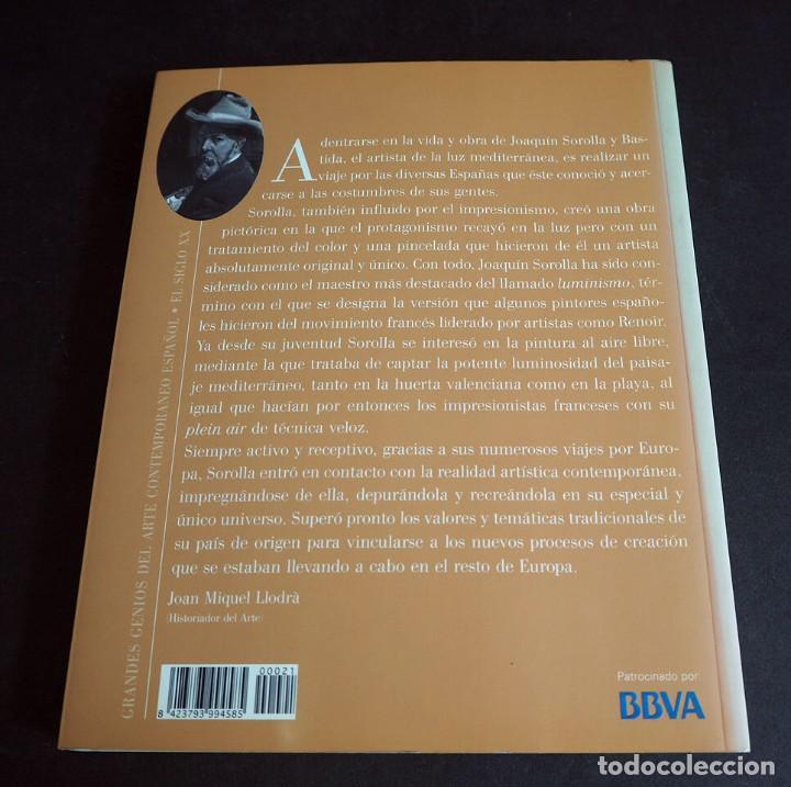 Libros de segunda mano: SOROLLA. GRANDES GENIOS DEL ARTE CONTEMPORANEO ESPAÑOL. EL MUNDO. 2006 - Foto 9 - 205242458