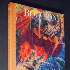 Libros de segunda mano: BOCCIONI. GRANDES GENIOS DEL ARTE CONTEMPORANEO ESPAÑOL. EL MUNDO. 2006. Lote 205243152