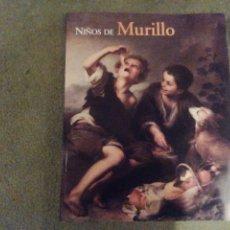 Libros de segunda mano: NIÑOS DE MURILLO. MUSEO DEL PRADO 2001.. Lote 205305781