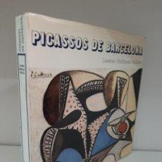Libros de segunda mano: PICASSOS DE BARCELONA, BIBLIOTECA DE ARTE HISPANICO, PINTURA / PAINTING, POLIGRAFA, 1974. Lote 205387673
