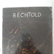 Libros de segunda mano: BECHTOLD, ANGLE, SUPERFICIE, ESPAI, CATALOGO DE PINTURA / PAINTING CATALOGUE, LA LLONJA, 1994. Lote 205406920