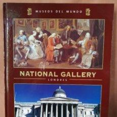 Libros de segunda mano: MUSEOS DEL MUNDO. TOMO 1. NATIONAL GALLERY LONDRES. ESPASA. Lote 205764753