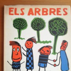 Libros de segunda mano: ELS ARBRES DE LA NOSTRA ESCOLA 1974 POEMES I XILOGRAFIES ANTONI GELABERT. Lote 205836421