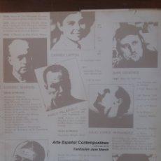 Libros de segunda mano: ARTISTAS ESPAÑOLES CONTEMPORÁNEOS 1978. Lote 206255805