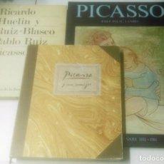 Libros de segunda mano: LOTE 3 LIBROS DE PICASSO. Lote 206447140
