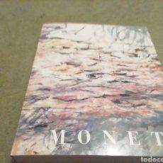 Libros de segunda mano: CLAUDE MONET. 1840 1926. EXPO 1986. MUSEO DE ARTE CONTEMPORÁNEO.. Lote 206806873