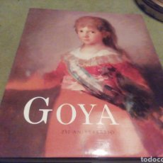 Libros de segunda mano: GOYA. 250 ANIVERSARIO. MUSEO DEL PRADO. Lote 206809641