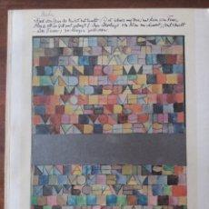 Libros de segunda mano: MONOGRAFÍA PAUL KLEE 1981. Lote 206915962