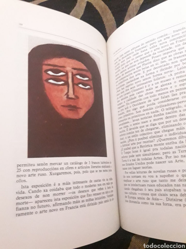 Libros de segunda mano: Castelao, Diario 1921 - Foto 2 - 207066740