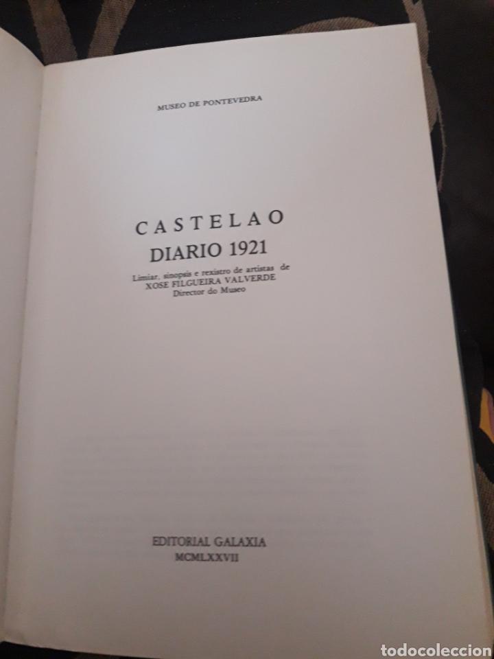 Libros de segunda mano: Castelao, Diario 1921 - Foto 3 - 207066740