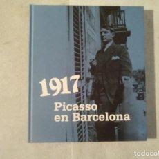 Libros de segunda mano: 1917 : PICASSO EN BARCELONA - MALÉN GUAL - MUSEU PICASSO / AJUNTAMENT DE BARCELONA -(E1). Lote 207071148