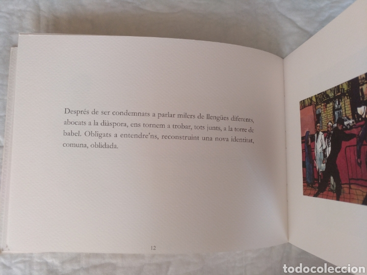 Libros de segunda mano: De Barcelona al món. Il.lustracions Miquel Cazaña. Textos Pau Mota. Pròleg Arcadi Oliveres. Libro - Foto 4 - 207121120